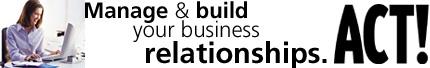 ACT! v.6.0 Software - Build Customer Relationships!